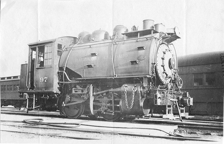 B&O C-16 1951 Dockside 01