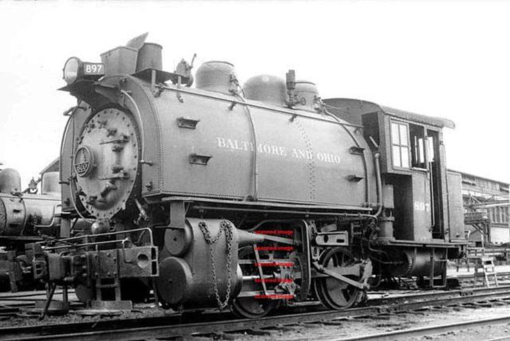 B&O C-16 1951 Dockside 18