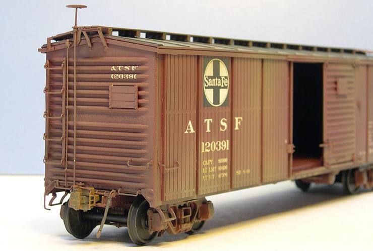 yoder atsf bx-6 panel boxcar 4