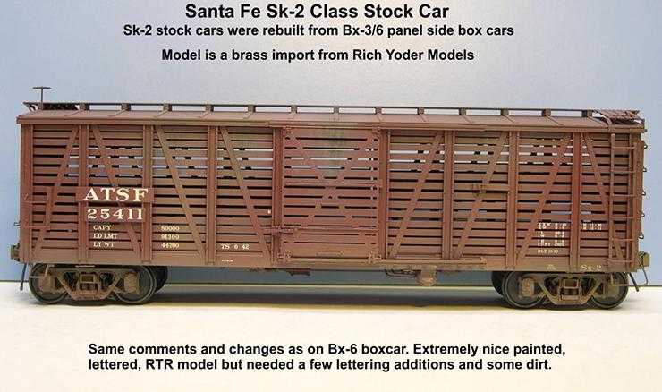 yoder atsf sk-2 stock car 1