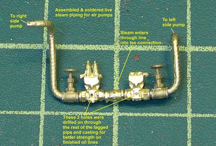 atsf santa fe 5001 2-10-4 air pump plumbing 6