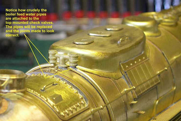 atsf santa fe 5001 2-10-4 boiler feed 1