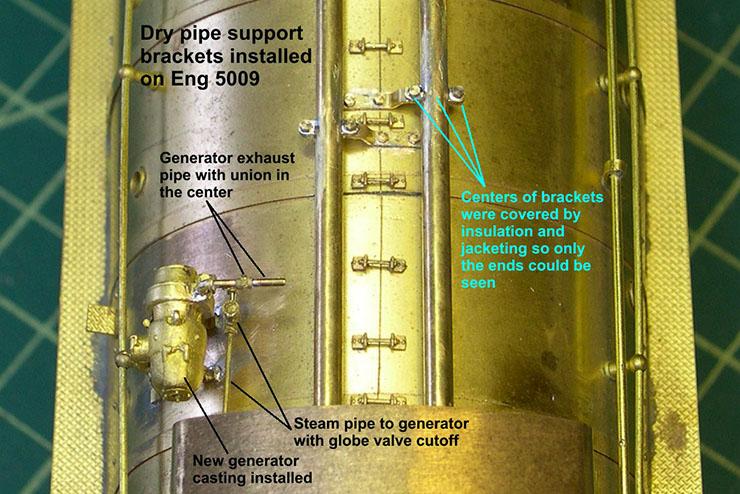 atsf santa fe 5001 2-10-4 dry pipe brackets 5
