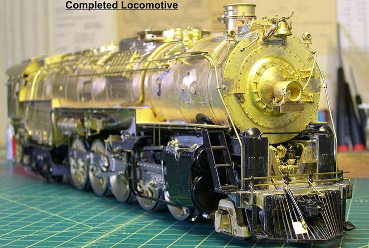 atsf santa fe 5001 2-10-4 complete loco 10