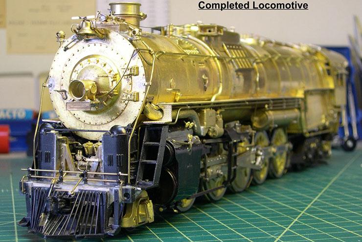 atsf santa fe 5001 2-10-4 complete loco 12