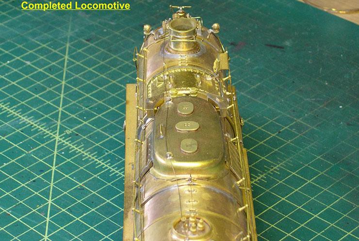 atsf santa fe 5001 2-10-4 complete loco 17