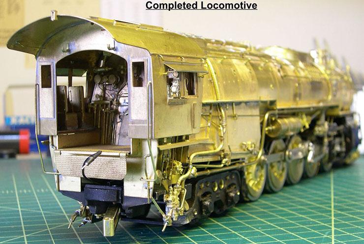 atsf santa fe 5001 2-10-4 complete loco 7