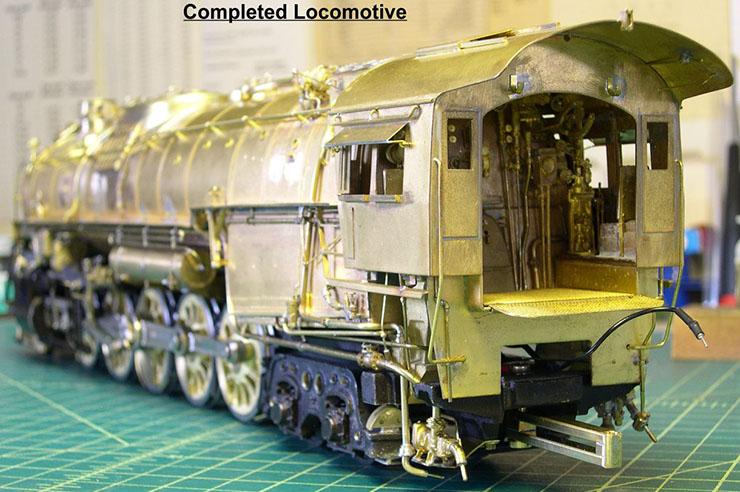 atsf santa fe 5001 2-10-4 complete loco 9