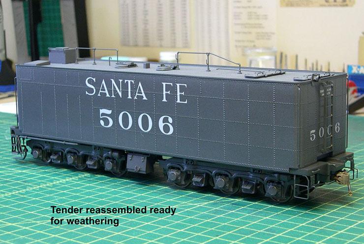 atsf santa fe 5001 2-10-4 paint 46