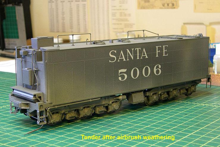 atsf santa fe 5001 2-10-4 paint 52