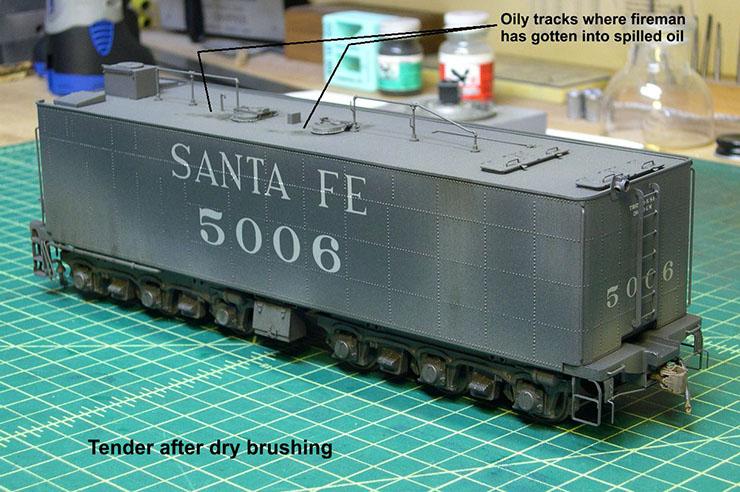 atsf santa fe 5001 2-10-4 paint 58