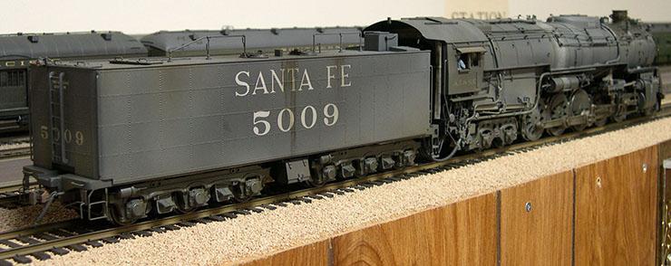atsf santa fe 5001 2-10-4 AT&SF 5009 10